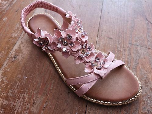Pink Floral Sandal