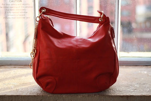 Large Slouch Zipped Key Chain Bag