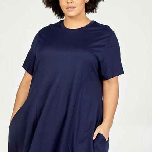 Navy and Khaki Dress