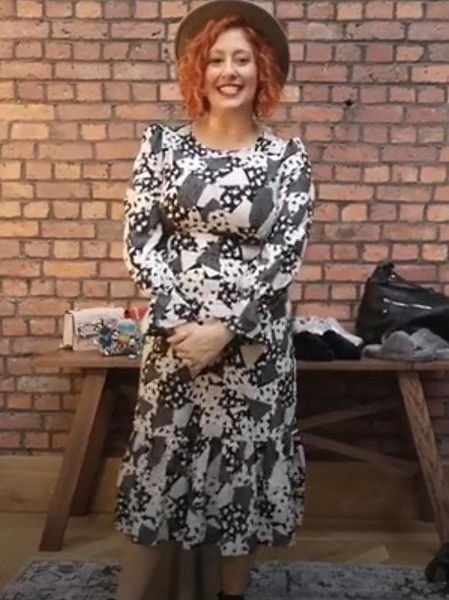 Geometric Priory Dress