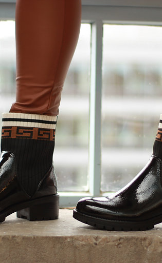 GG Patent Boot