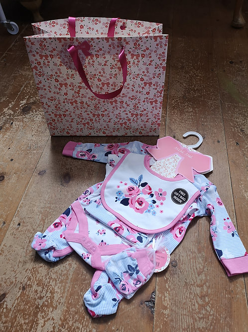 Baby Gift Bag 5 piece Set