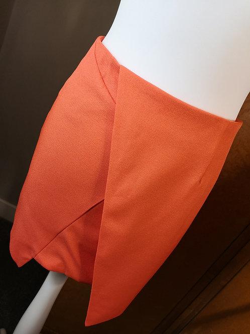 Orange mini skirt by Anna Smith NewYork