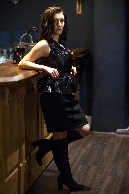 LYDC Black Dress