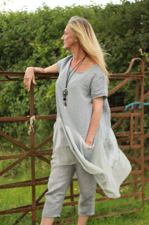 Silk Banded Tunic