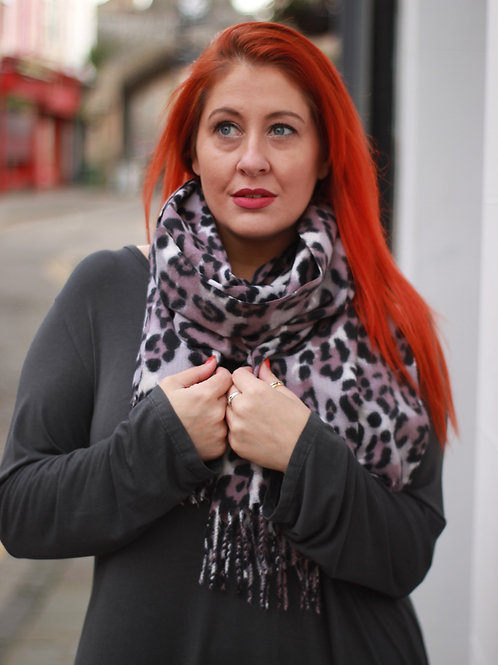 Super Smooth Animal Print Scarf