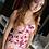 Thumbnail: Floral Pink midi dress
