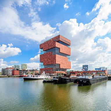 Museum aan de stroom | Antwerp, Belgium | Neutelings Riedijk architects