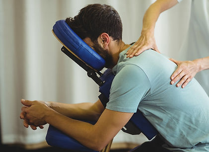 Seated Acupressure Massage from Samantha Chapman Remedial & Sports Massage Therapist
