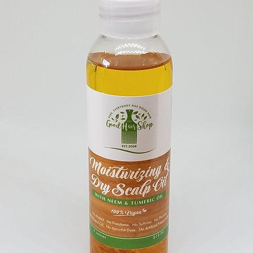 Moisturizing  & Dry Scalp Oil  with Neem & Tumeric Oil