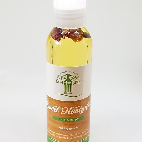 Sweet Honey Hair & Body Oil