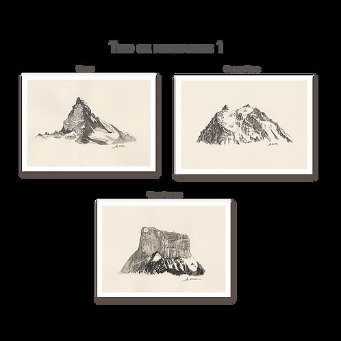 Trio de Montagnes #1