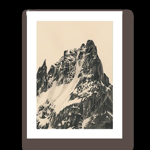 Aiguilles de Chamonix - Tirage d'Art