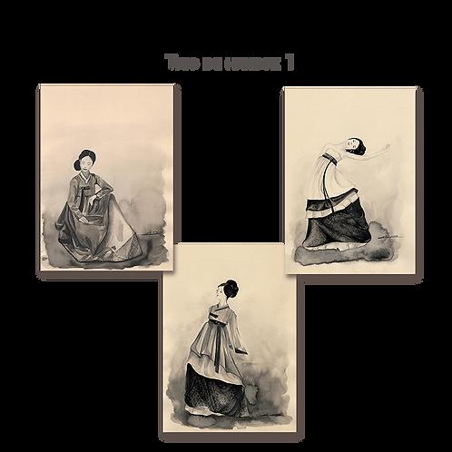 Trio de coréennes