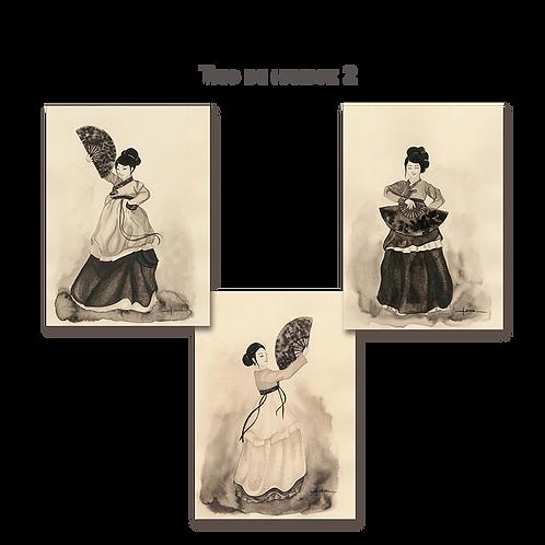 Trio de danseuses