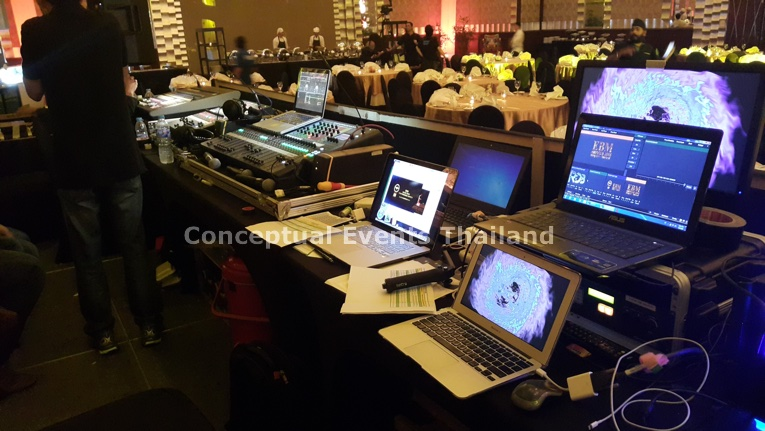 Sound, Lighting & Video Console