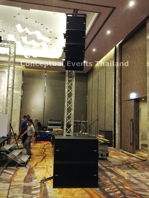 DB Technologies Line Array Sound