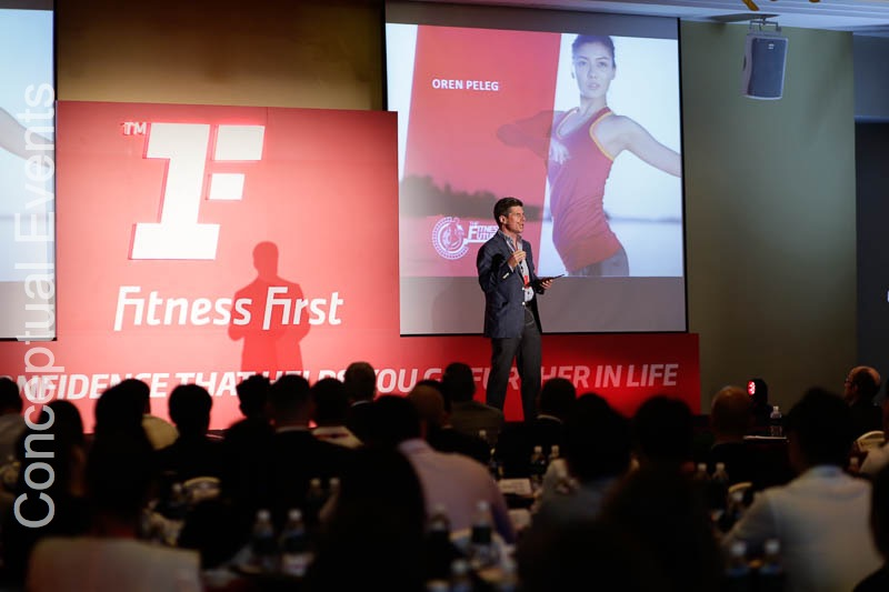 Fitness First Event in Singapore