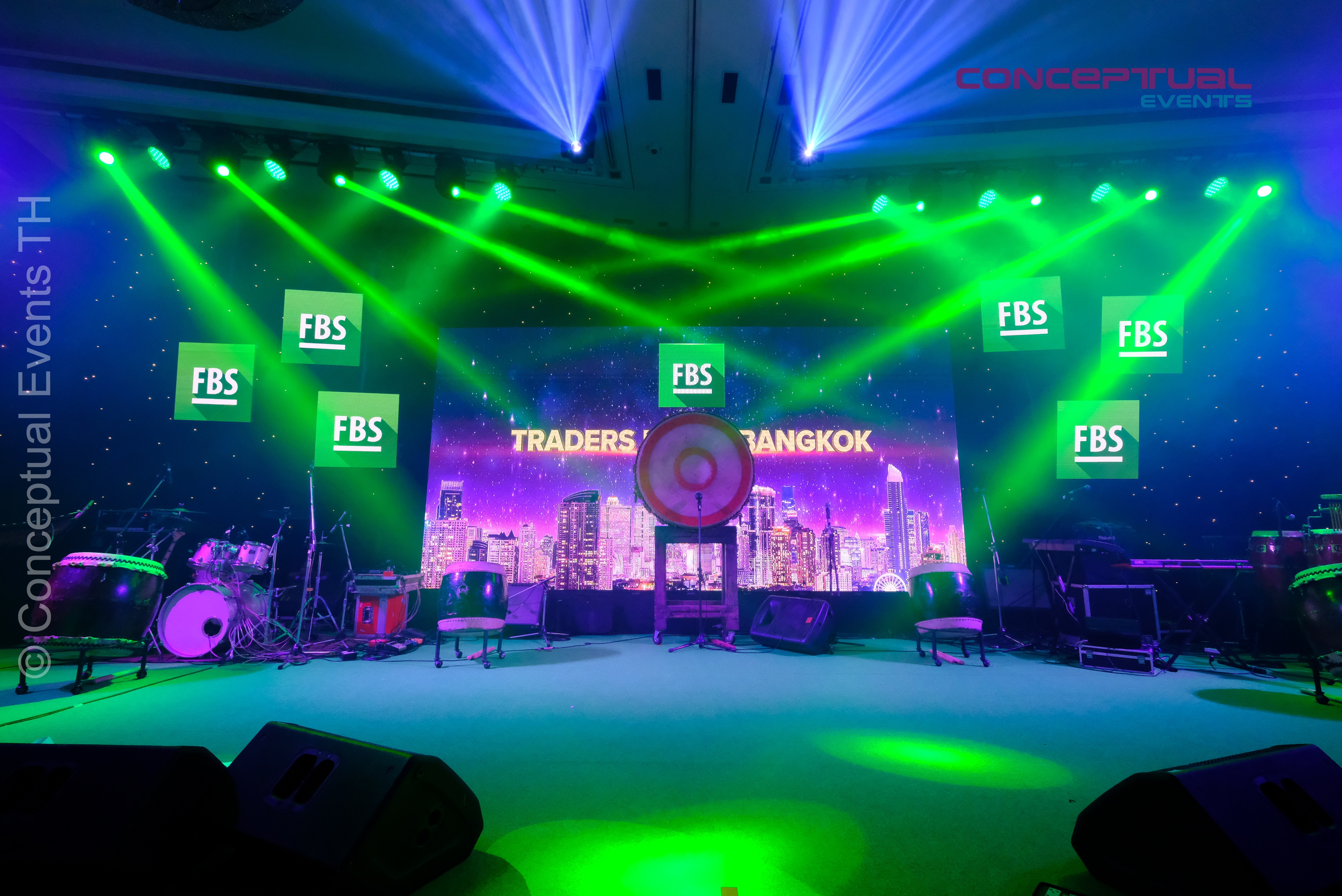 LED Screen for FBS Traders Party