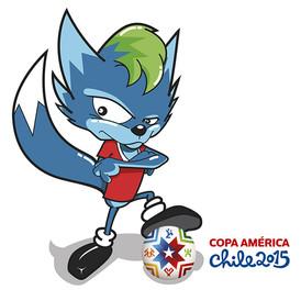 Zorro Copa América 2015