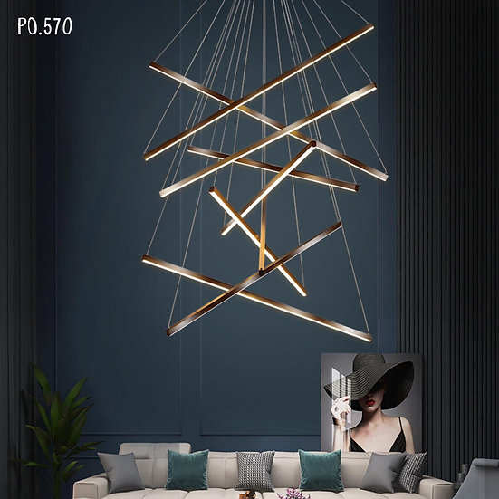 Belmira Hanging Lamp (PO570)