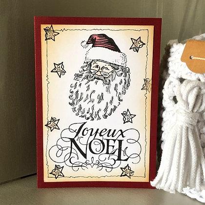 Carte ''Joyeux Noël''
