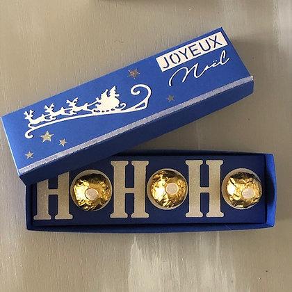 Boite de chocolat ''Ho Ho Ho''