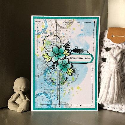 Carte ''Bon anniversaire''