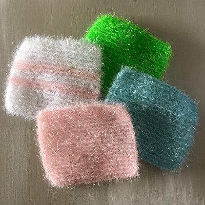 Petites éponge synthétiques pour la vaisselle