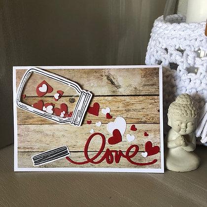 Carte ''Love''