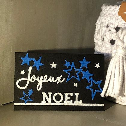 Pochette pour bon cadeau ''Joyeux Noël''