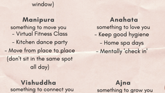 How The Chakras Can Help You Through Quarantine