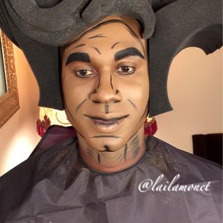 Male Pop Art (Creative Makeup)