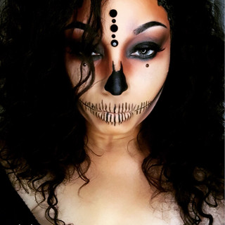 Scary Beauty Doll (Creative Makeup)
