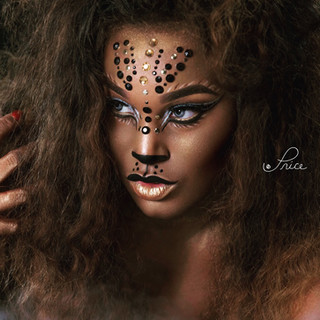 Lioness on the prowl (Creative Makeup)