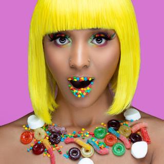 Candy Glam (Creative Makeup)