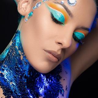 Foil Goddess (Creative Makeup)