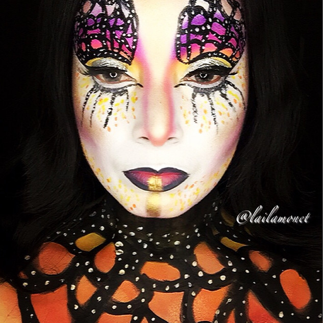 Monarch Butterfly (Creative Makeup)