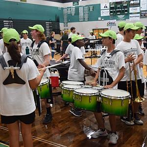 Band Rally at BHS
