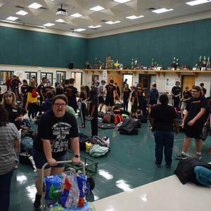 Send-Off to Bands of America South Texas Regional, McAllen, TX
