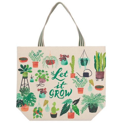 """""""Let it Grow"""" Tote Bag"""