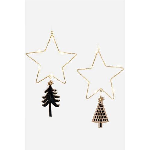 LED star ornament