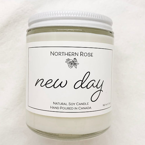 Northern Rose Co - 'New Day' Candle