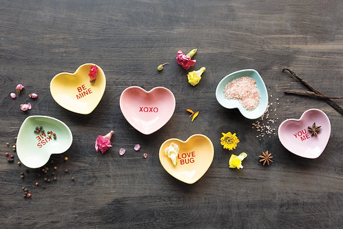 Sweet Hearts Mini Bowl Set