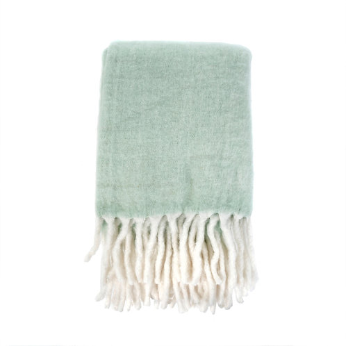Fireside Cosy Throw Mint