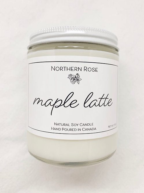 Northern Rose Co - 'Maple Latte' Candle