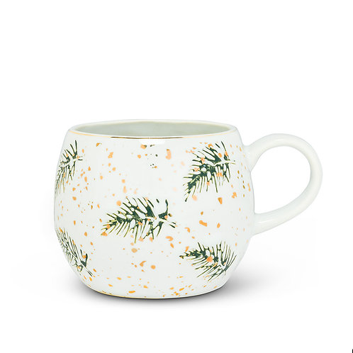 Pine Bough Ball Mug