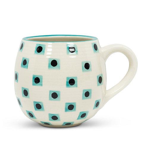 Aqua Dot Mug