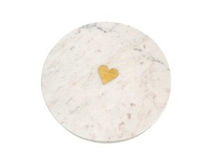 Sweetheart Marble Cheese Board