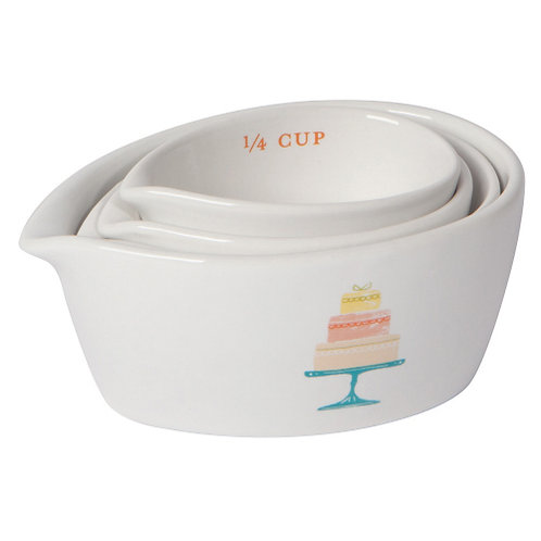 Cake Time!  Measuring Cups
